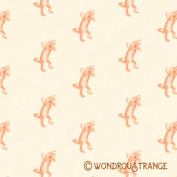 monster pattern display square