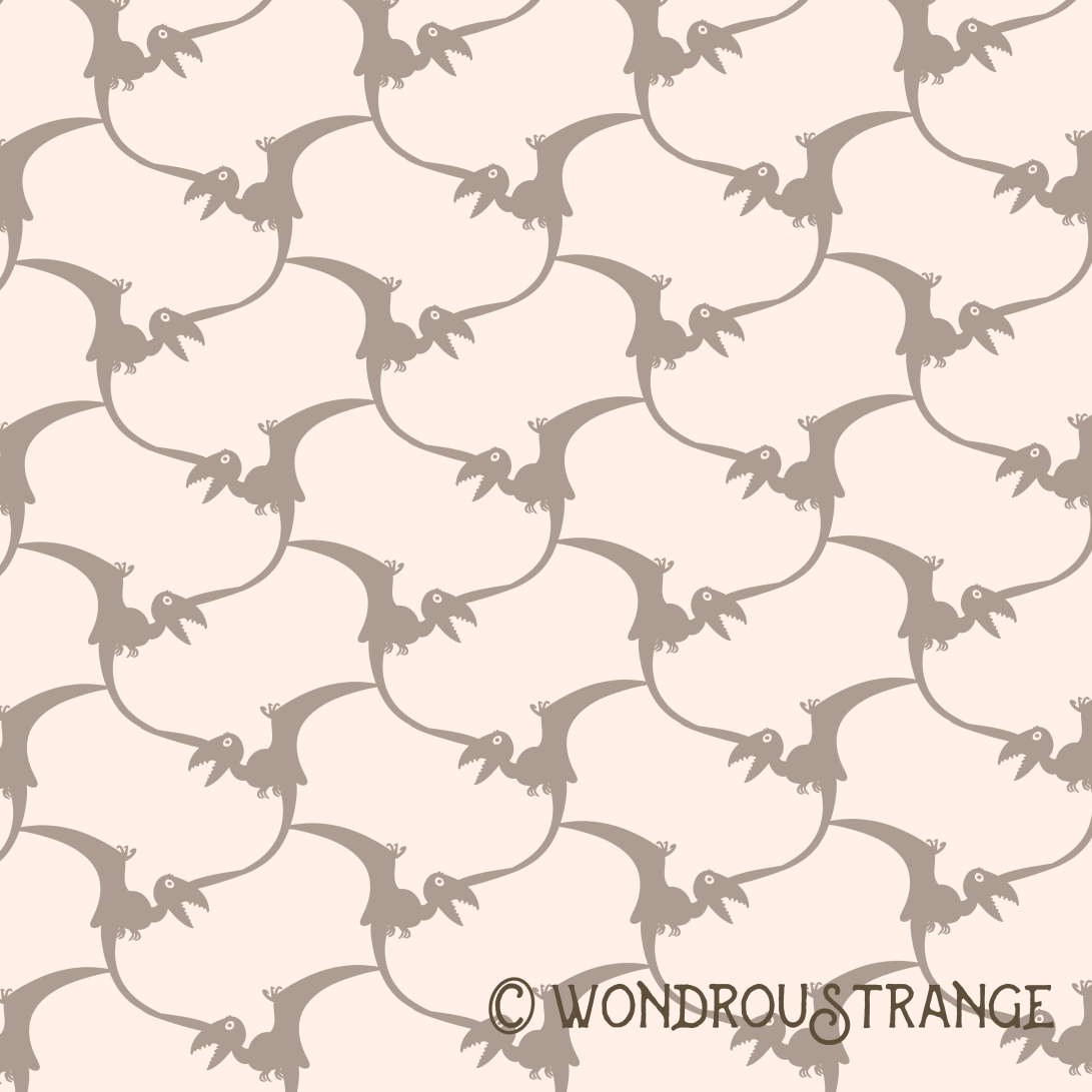 pteridactyl terrace display square