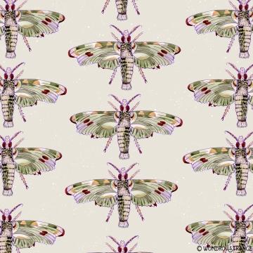 watercolor moth pattern1