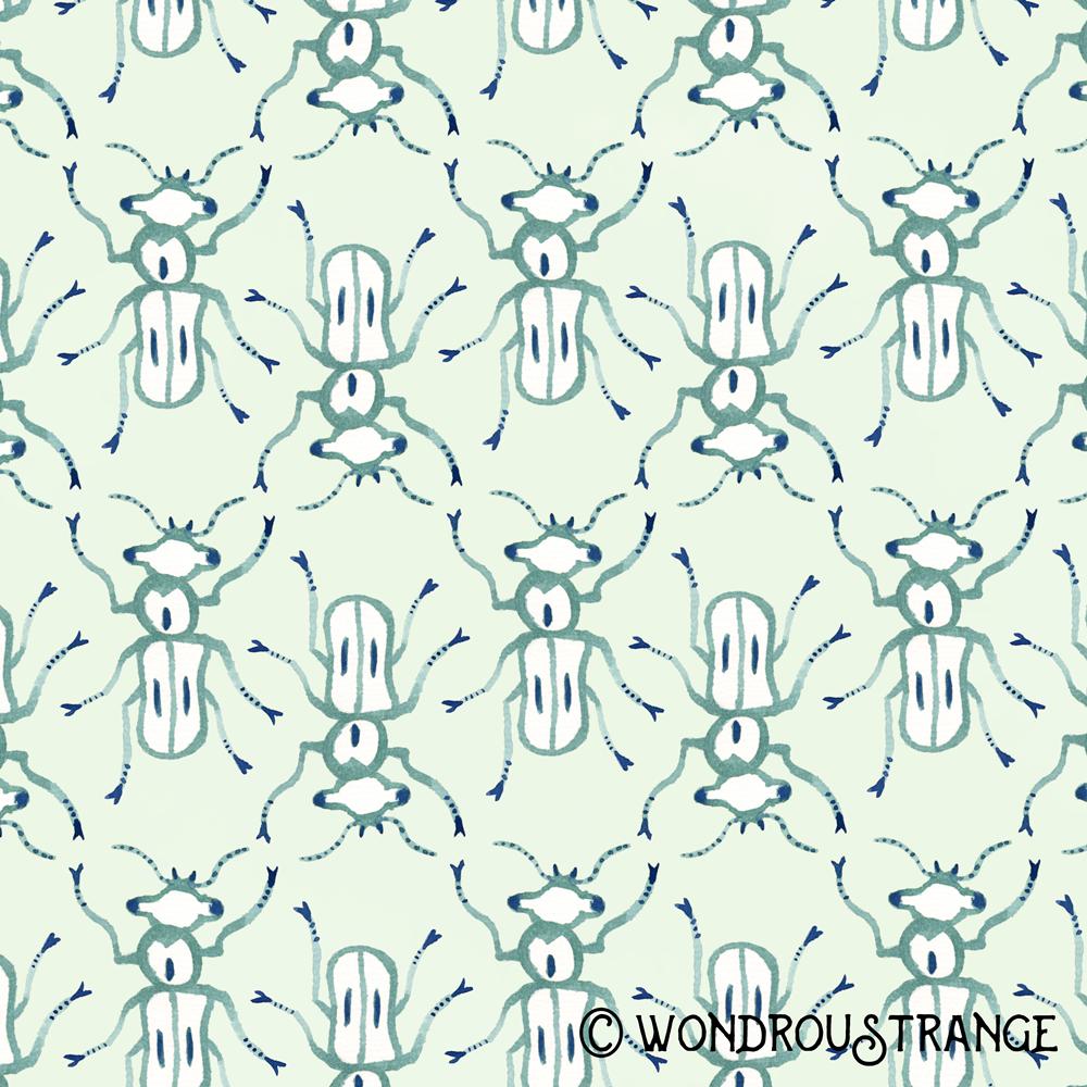 Beetle pattern display