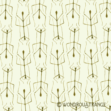 Stick Bug Pattern Display
