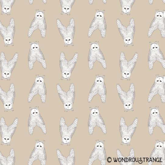 owl 1 pattern display