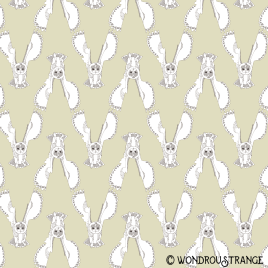 Owl 10 pattern display yellow
